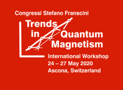 Trends in Quantum Magnetism Workshop, 2020